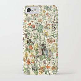 Adolphe Millot Vintage Fleurs Flower 1909 iPhone Case