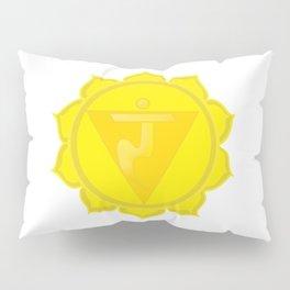 Manipura Chakra Solar Plexus chakra Yoga Pillow Sham