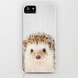 Hedgehog - Colorful iPhone Case