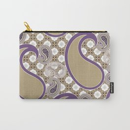 Chain 'em in Purp Carry-All Pouch