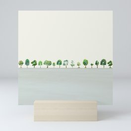 A Row Of Trees Mini Art Print