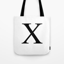 X - Harlem - African-American Remembrance in White Motif Tote Bag