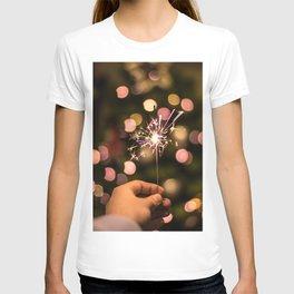 Sparkler (Color) T-shirt