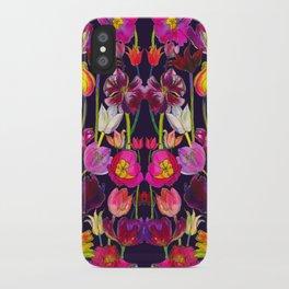 Pink and Orange Tulips iPhone Case