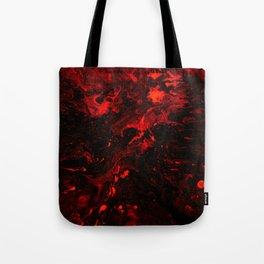 Red Blood Splatter Tote Bag
