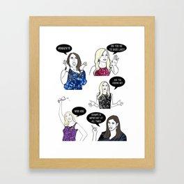 OC Ladies Framed Art Print