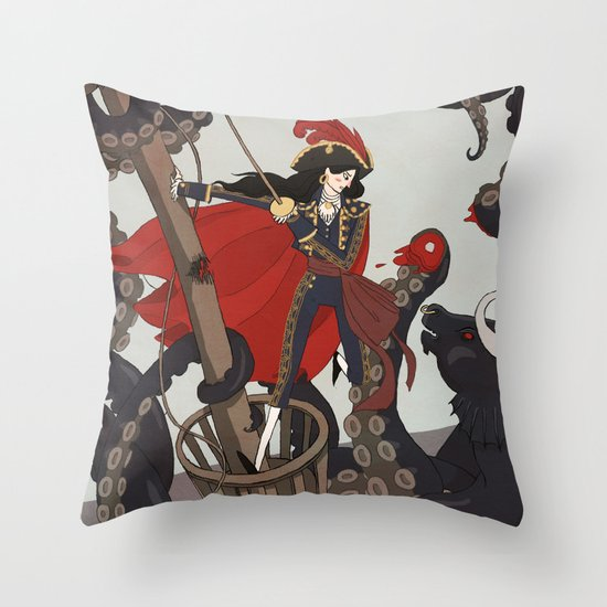 Nautical Matador Throw Pillow