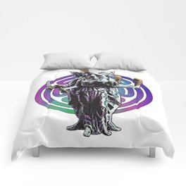Hecate - Stained Glass Comforters