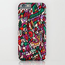 Jammin' Good (Berry) iPhone Case