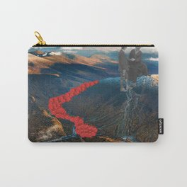 Valley of Roses Carry-All Pouch