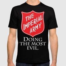 The Imperial Army SMALL Mens Fitted Tee Black