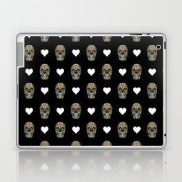 Say It with Skull and Hearts Laptop & iPad Skin