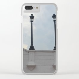 Tranquil Twins Clear iPhone Case