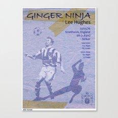 Ginger Ninja - Lee Hughes Canvas Print