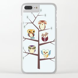 Owl Pine For You Clear iPhone Case