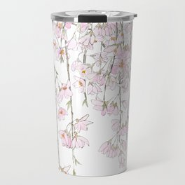 pink cherry blossom spring 2018 Travel Mug