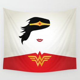 Wonder Girl Wall Tapestry