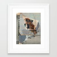 mirror Framed Art Prints featuring Mirror by Paul Prinzip