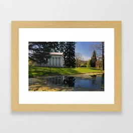 Classicism at Spring Grove Framed Art Print