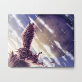 Flight of the Gryphon Metal Print