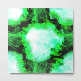 Mind Explosion by B Metal Print