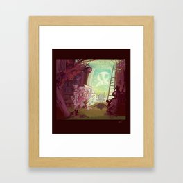 Bewitched! Framed Art Print