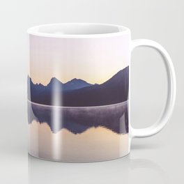 Sunrise over Glacier Coffee Mug