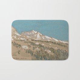 Mt Hood, Oregon 1904 by Childe Hassam Bath Mat