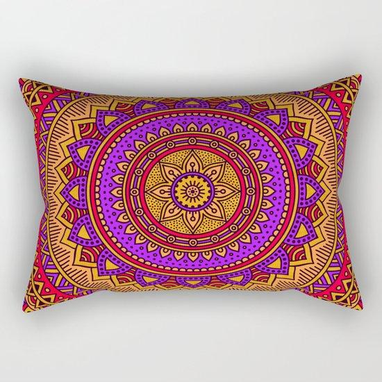 Hippie mandala 51 Rectangular Pillow