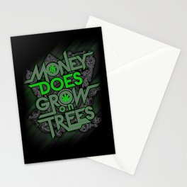 Money Does Grow on Trees Stationery Cards