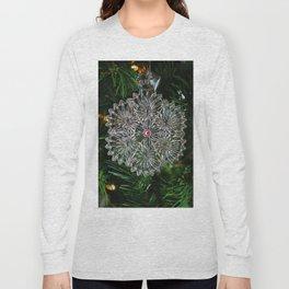 Snowcrystal Ornament 2016- vertical Long Sleeve T-shirt