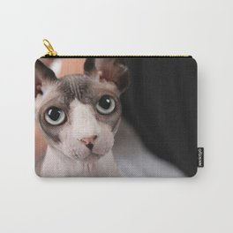 Mumbles the Sphynx Cat 03 Carry-All Pouch