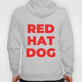 red hat dog Hoody