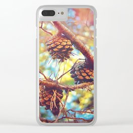 Autumn pine cones  #photography Clear iPhone Case