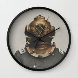 The Dutch Martian Wall Clock