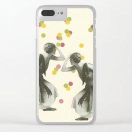 Dance : Gemini Clear iPhone Case