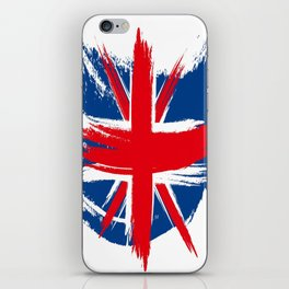 Sketched Union Jack iPhone Skin