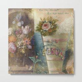Les Fleurs Metal Print