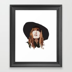 Florence + The Machine Framed Art Print