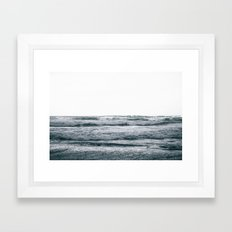 Waves V Framed Art Print