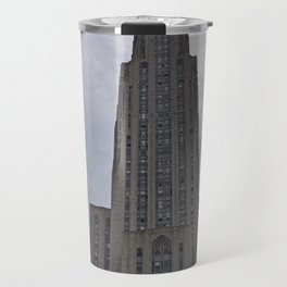 Pittsburgh Tour Series - Cathedral of Learning at PITT Travel Mug