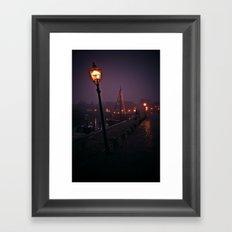 At the Docks Framed Art Print