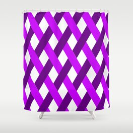 Simple Line Pattern Shower Curtain