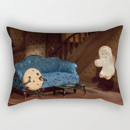 Haunted Cookie Mansion Rectangular Pillow