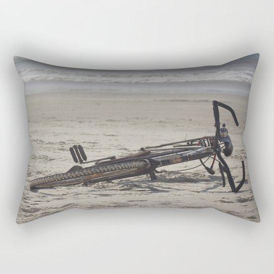 Lost Bicycle Rectangular Pillow