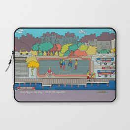 One day in the city - We do the squads? Laptop Sleeve