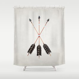 Friendship Arrows (30) Shower Curtain