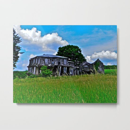 What Once Was Metal Print