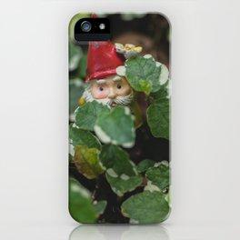 Peek-a-boo Gnome iPhone Case