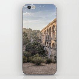 Pont del Diable (Ferreres Aqueduct, Tarragona) iPhone Skin